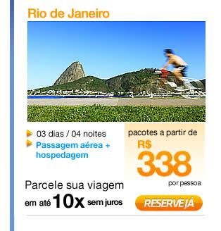 Pacotes Turísticos para o Rio de Janeiro