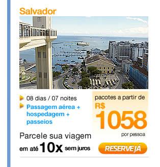 Pacotes Turísticos para Salvador