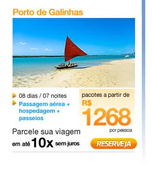 Pacotes Turísticos para Porto de Galinhas