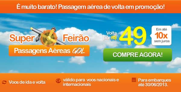SuperFeirão GOL com volta a 49 reais